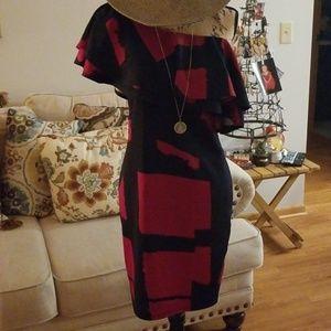 Off-Shoulder Statement Dress